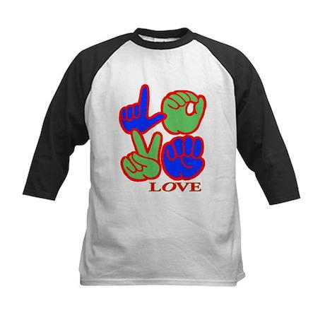 Square F.S. LOVE Kids Baseball Jersey