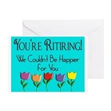 More Retirement Greeting Card