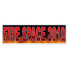 Fire Zachary Space! (sticker)