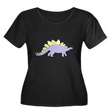 Purple Stegosaurus T