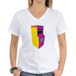 Acceptable in the 80's Women's V-Neck T-Shirt