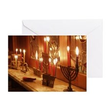 Menorah Greeting Cards (Pk of 10)
