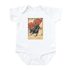 """""""Red Horseman"""" Infant Bodysuit"""