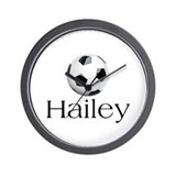 Hailey Soccer Wall Clock