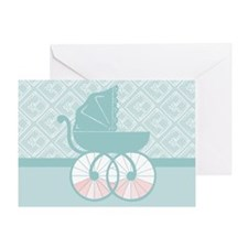 The Carriage Awaits Greeting Card