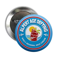"Alpert Age Defying LOST 2.25"" Button"