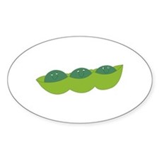 Happy peas Decal
