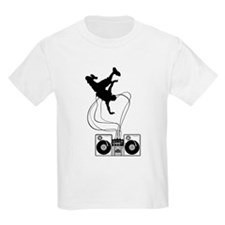 Breakdancer Black T-Shirt