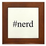 #nerd Framed Tile