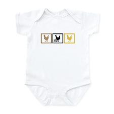 I Love Chicken Adobo Infant Bodysuit