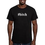 # bitch Men's Fitted T-Shirt (dark)