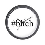 # bitch Wall Clock