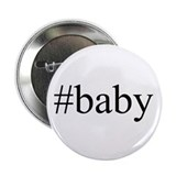 "# baby 2.25"" Button (10 pack)"