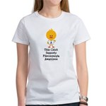 Fibromyalgia Awareness Chick Women's T-Shirt