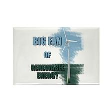 Big fan Rectangle Magnet (10 pack)