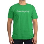 #hashtagshop Men's Fitted T-Shirt (dark)