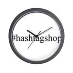 #hashtagshop Wall Clock