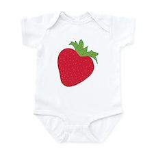 Cute Strawberry Infant Bodysuit