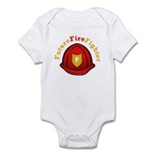 Future Fire Fighter Infant Bodysuit