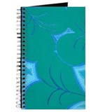 Green Lilly Heart Pads Journal