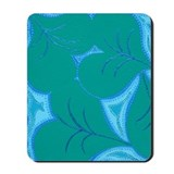 Green Lilly Heart Pads Mousepad