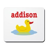 Addison's rubber ducky Mousepad