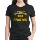 Motor Pool (Yellow) Tee