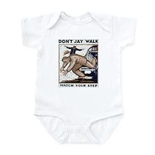 Don't Jay Walk 1937 Infant Creeper