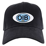 Ocean Isle Beach NC - Oval Design Baseball Hat