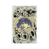 Theda Bara Rectangle Magnet