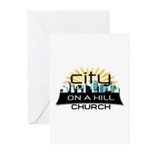 City On A Hill Greeting Cards (Pk of 10)