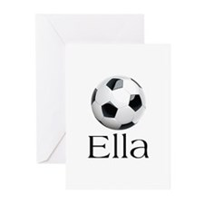 Ella Soccer Greeting Cards (Pk of 10)