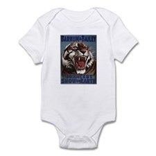 Vintage Circus Tiger Infant Bodysuit