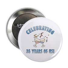 "35th Anniversary Party 2.25"" Button (10 pack)"