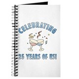 25th Anniversary Party Journal