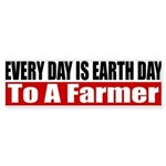 Every Day Is Earth Day Sticker (Bumper)