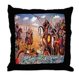 Shahnameh Throw Pillow