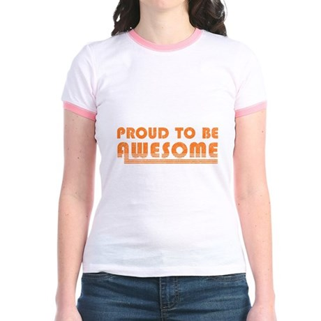 Proud to be Awesome Jr Ringer T-Shirt