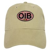 Ocean Isle Beach NC - Oval Design Baseball Cap