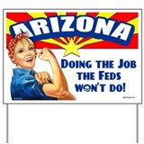 Job Feds Won't Do Yard Sign