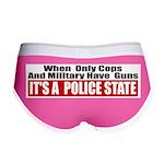 Police State Women's Boy Brief