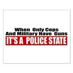 Police State Small Poster