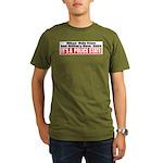 Police State Organic Men's T-Shirt (dark)