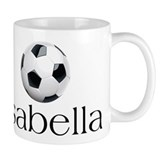 Isabella Soccer Small Mugs