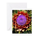 Magical Artichoke Flower Greeting Cards (Pk of 20)