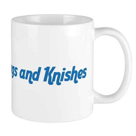 Hugs and Knishes Coffee Mug