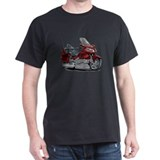 Goldwing Maroon Bike T-Shirt