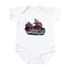 Goldwing Maroon Bike Infant Bodysuit