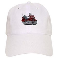 Goldwing Maroon Bike Baseball Cap