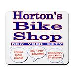 Horton's Bike Shop Mousepad